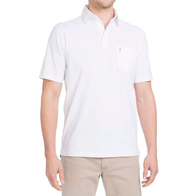 Harvey Polo in White by Johnnie-O - FINAL SALE