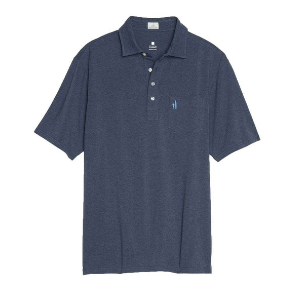 Johnnie-O Heathered Original Polo in Wake
