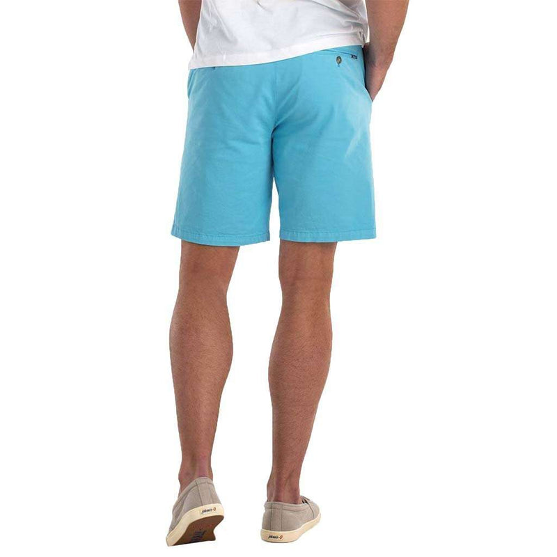 Johnnie-O Neal Stretch Twill Shorts in Fiji