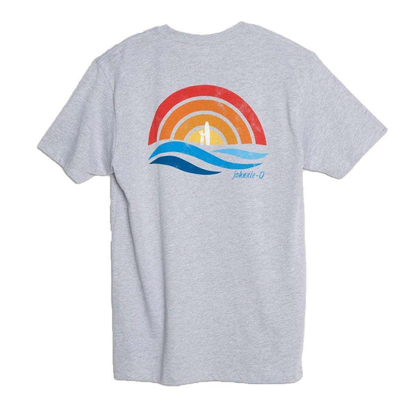Johnnie-O Paradise T-Shirt in Light Gray