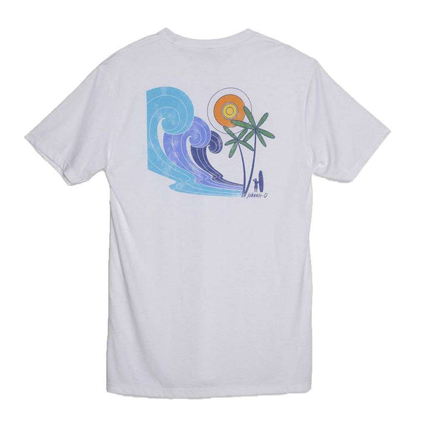 Johnnie-O Psychedelic T-Shirt in White