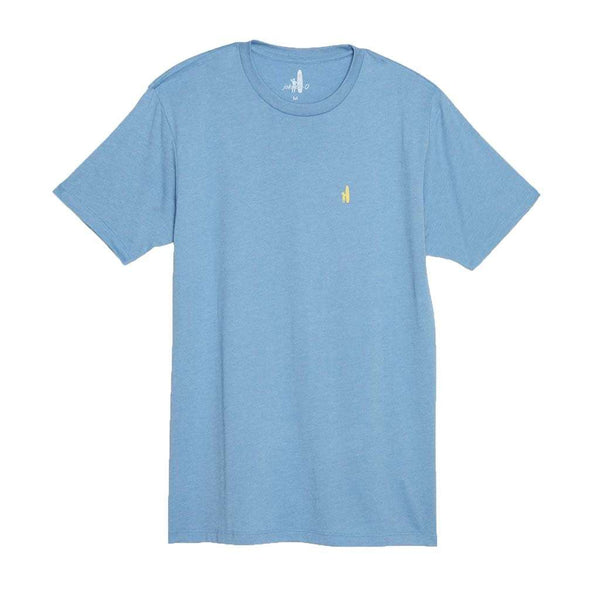 Johnnie-O Scenic T-Shirt in Gulf Blue