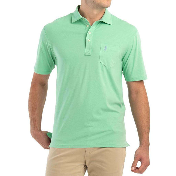 Johnnie-O The Original 4-Button Polo in Highlighter