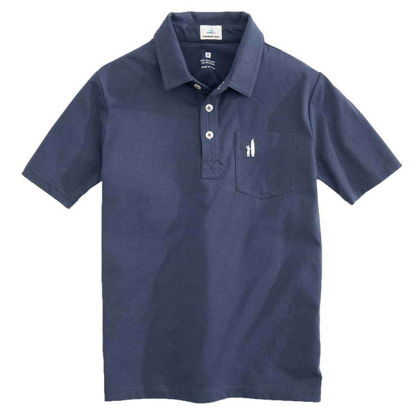 Johnnie-O Youth Original Polo in Wake