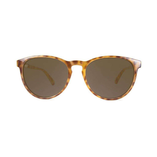 Knockaround Blonde Tortoise Shell Mai Tais with Amber Polarized Lenses