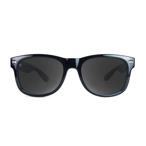 Fort Knocks Sunglasses in Glossy Black Sage with Polarized Smoke Lenses by Knockaround