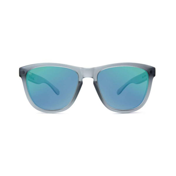 Frosted Grey Premium Sunglasses with Polarized Moonshine Lenses by Knockaround