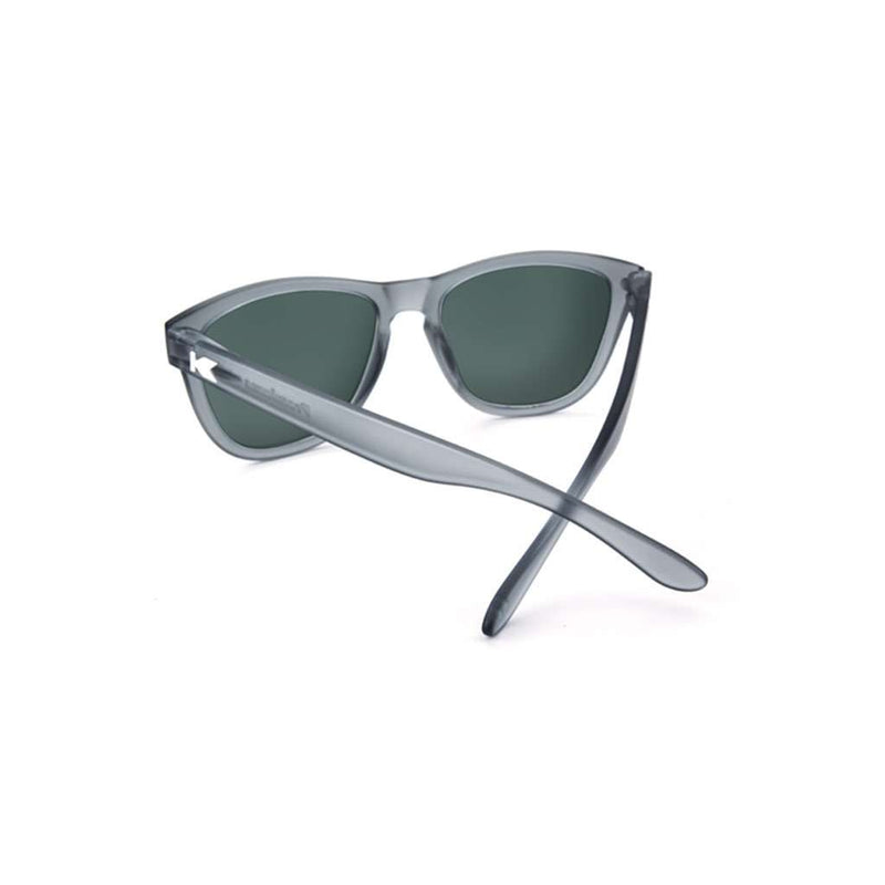 709a83c61b Knockaround Frosted Grey Premium Sunglasses with Polarized Moonshine Lenses