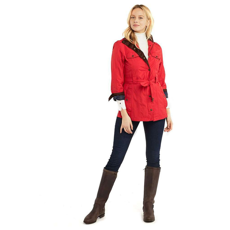 Ladies Swift Waterproof Jacket by Dubarry of Ireland