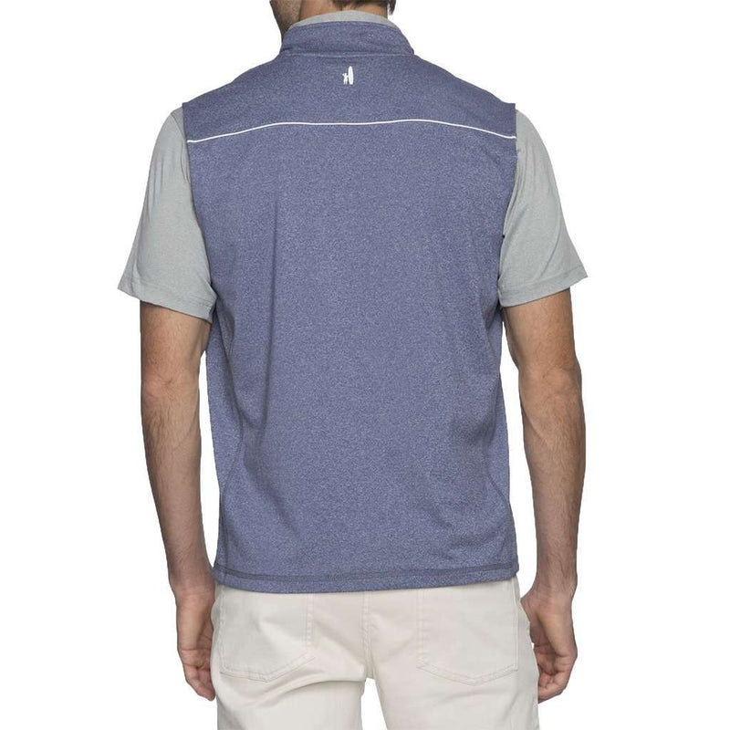 Lammie 1/4 Zip Prep-Formance Vest by Johnnie-O - FINAL SALE