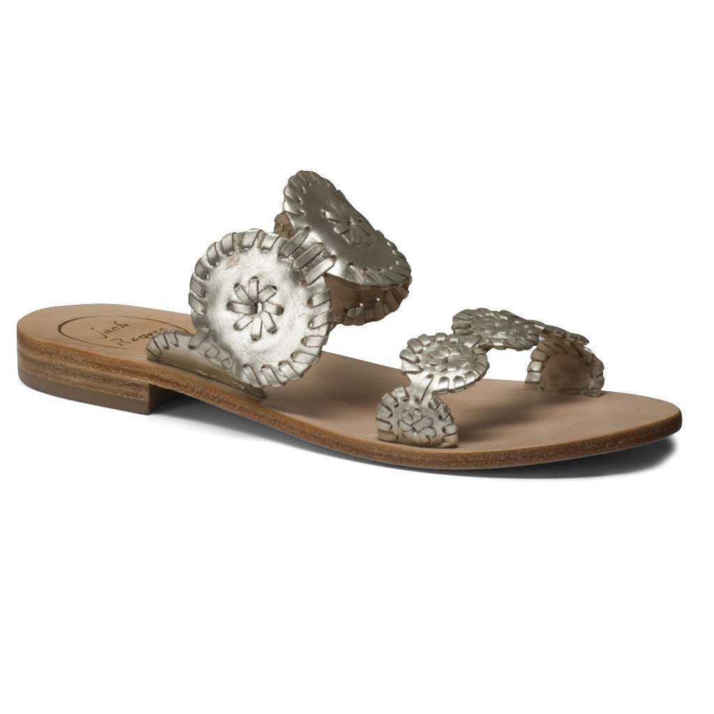 Lauren Sandal in Platinum by Jack Rogers  - 1
