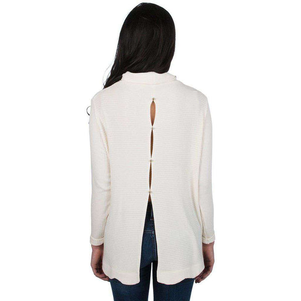 Camille Sweater in Ivory by Lauren James - FINAL SALE