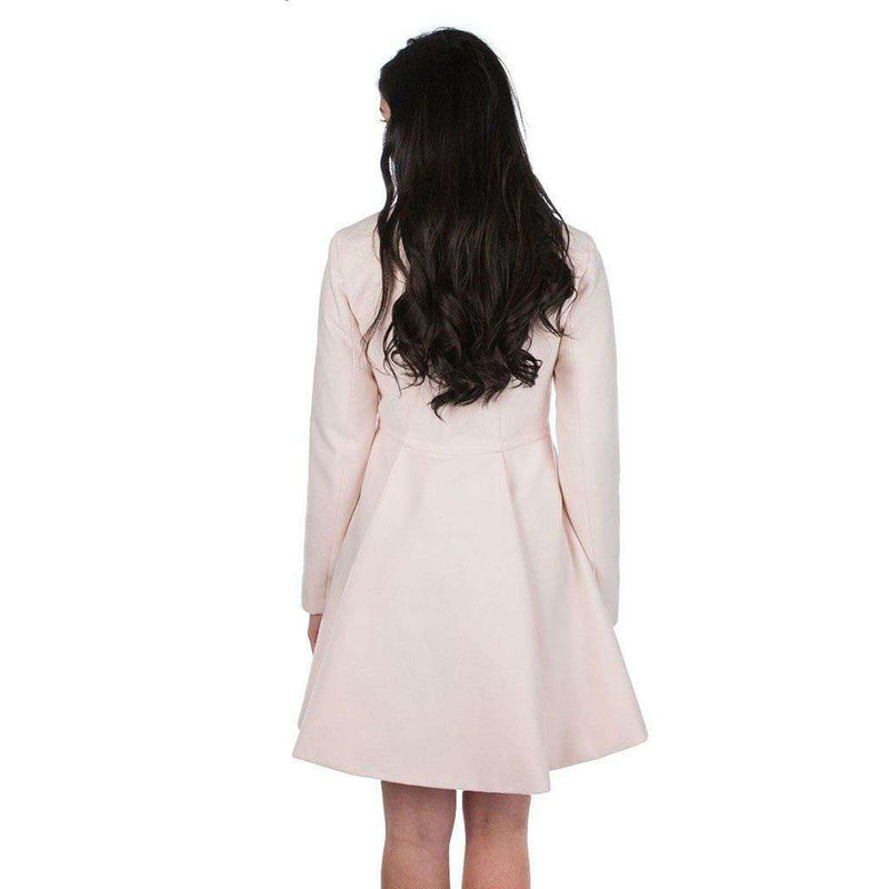 Chloe Coat in Blush by Lauren James - FINAL SALE