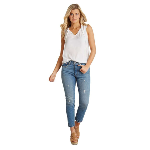 Lauren James Marina Ruffle Top