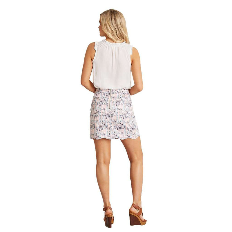 Natalie Side Button Skirt by Lauren James - FINAL SALE