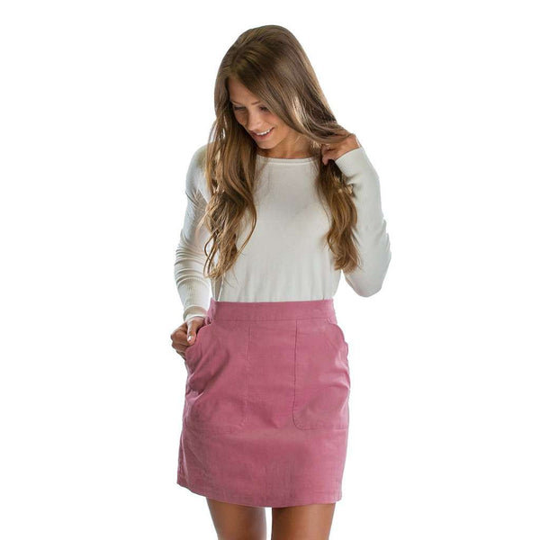 Lauren James Patch Pocket Skirt in Primrose