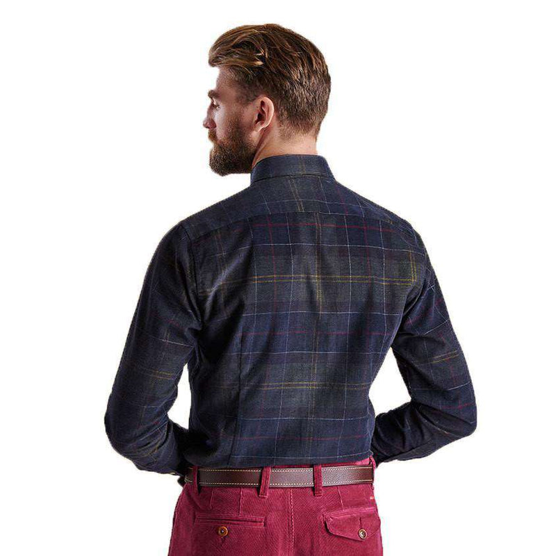 Lawerence Tailored Fit Button Down in Classic Tartan by Barbour  - 3