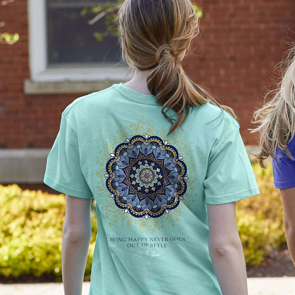 Lily Grace Mandala Tee by Lily Grace
