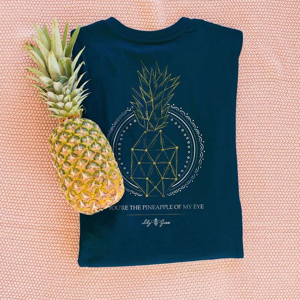 Pineapple of My Eye Tee by Lily Grace
