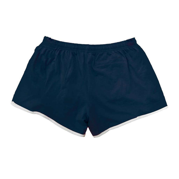 Navy Jersey with Mint Seersucker Shorts by Lily Grace - FINAL SALE