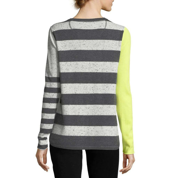 Pop Rocks Cashmere Sweater in Salt-N-Peppa by Lisa Todd - FINAL SALE