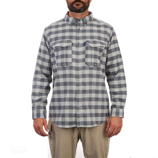 AFTCO Buffalo Bill Long Sleeve Tech Flannel by AFTCO