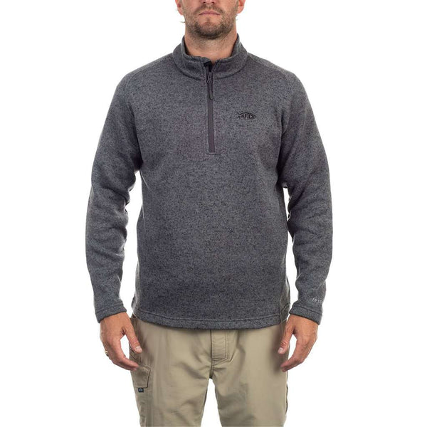 AFTCO Sumo 1/4 Zip Sweater Fleece by AFTCO