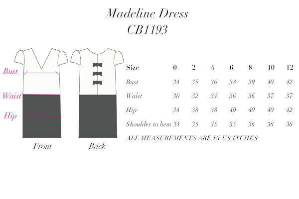 Madeline Dress in Black & Ivory by Camilyn Beth - FINAL SALE