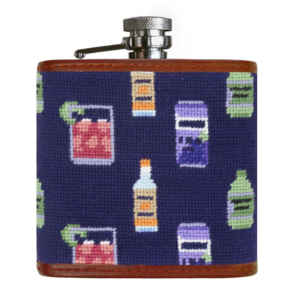 Make a Transfusion Pattern Needlepoint Flask by Smathers & Branson