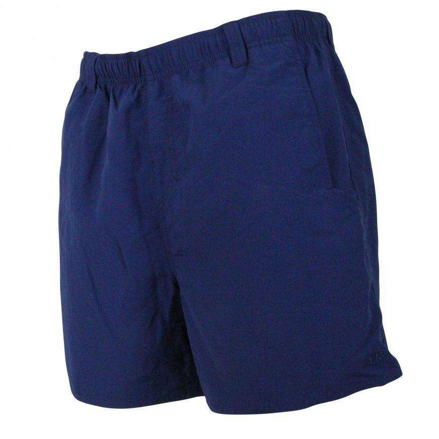 Manfish Swim Trunk in Navy by AFTCO  - 1