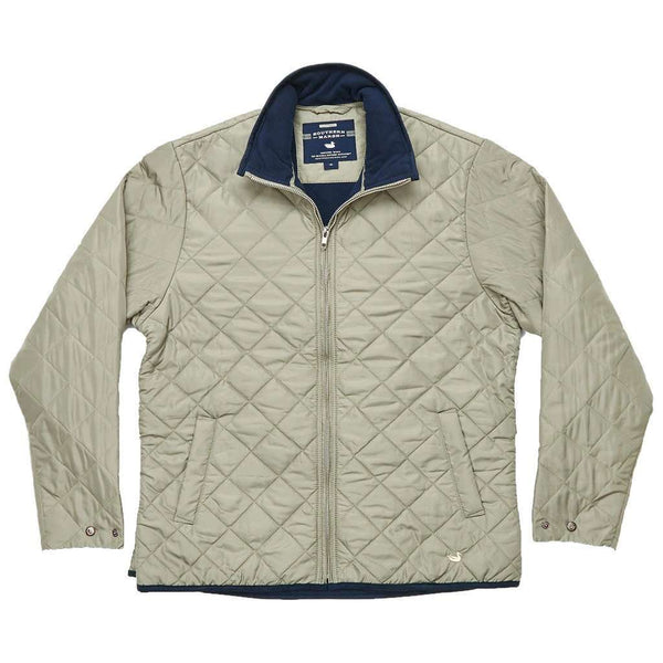 Southern Marsh Marshall Quilted Jacket In Sandstone