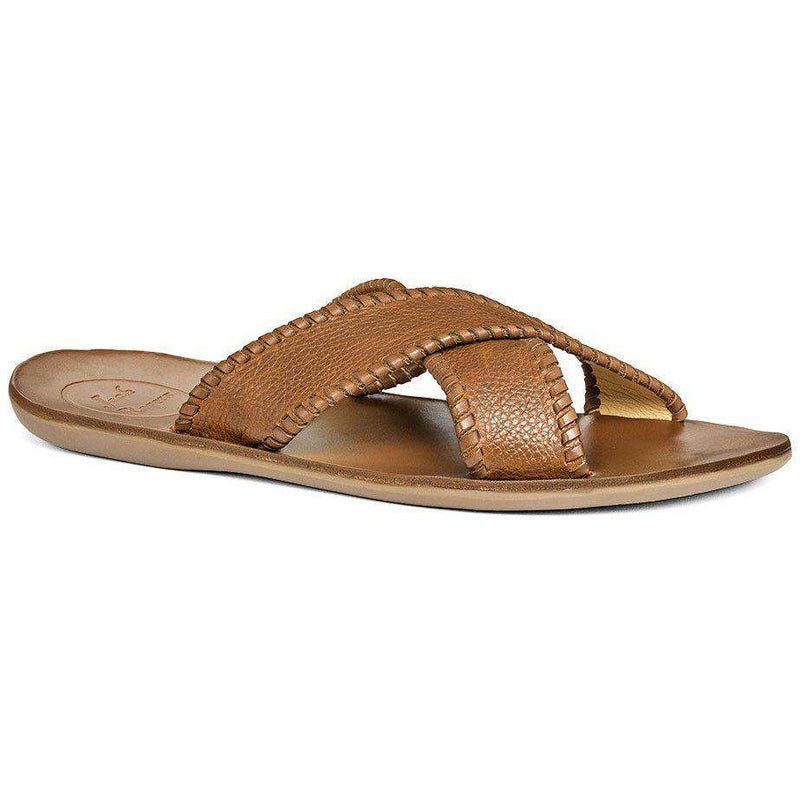 Men's Kane Sandal in Tan by Jack Rogers
