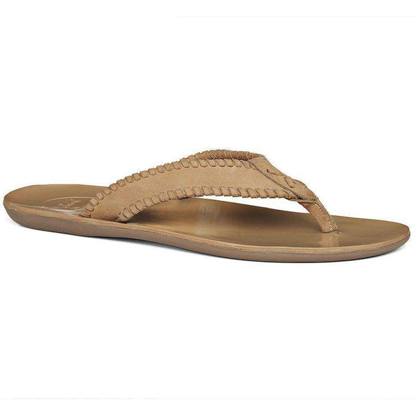Men's Sullivan Nubuck Sandal in Sand by Jack Rogers