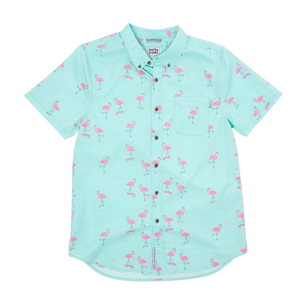 The Cruisers Short Sleeve Button Down Party Shirt by Party Pants