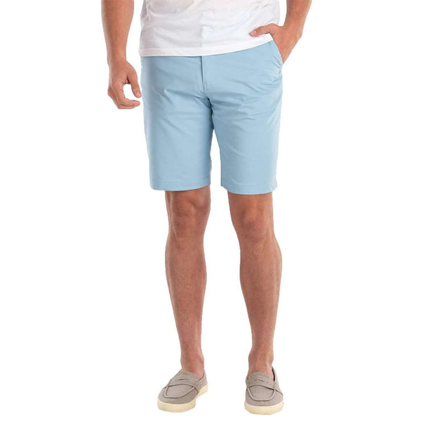 "Mulligan ""Prep-Formance"" Shorts in Sterling by Johnnie-O"