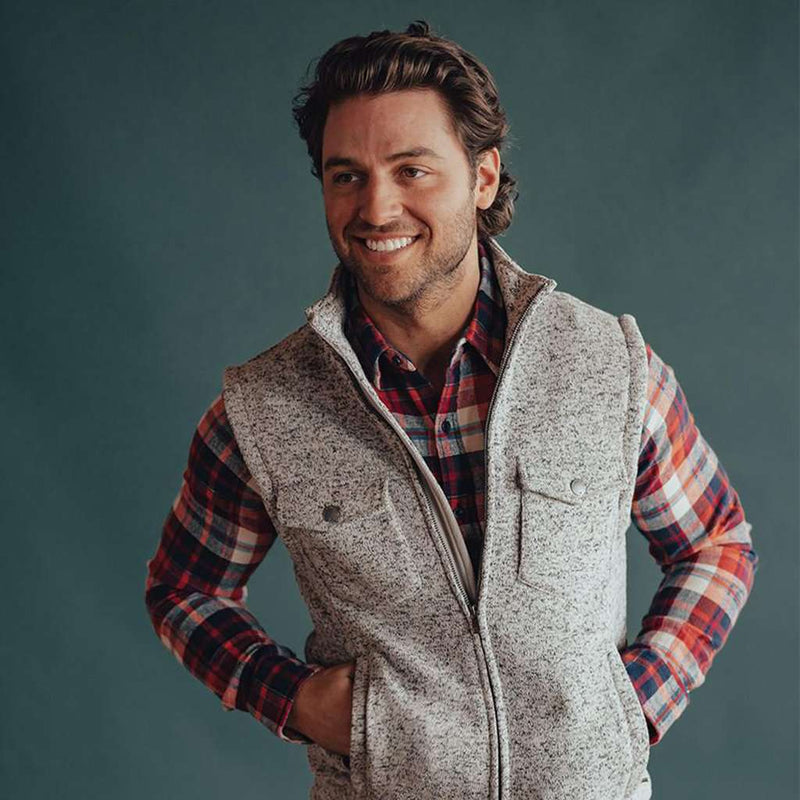 The Normal Brand Lincoln Fleece Vest by The Normal Brand