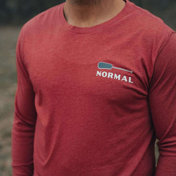 The Normal Brand Paddle Long Sleeve T-Shirt by The Normal Brand