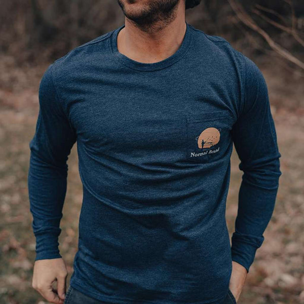 The Normal Brand Fly Fishing Long Sleeve T-Shirt by The Normal Brand