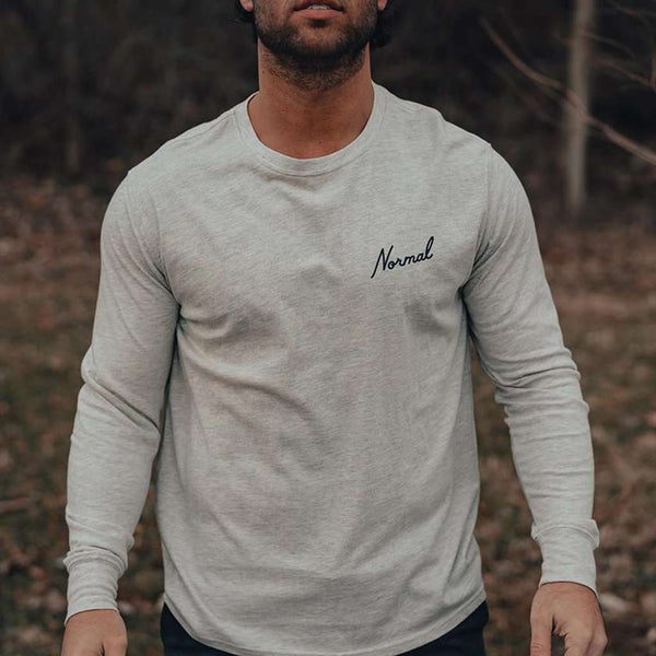 The Normal Brand No Boundaries Long Sleeve T-Shirt by The Normal Brand