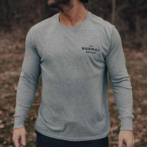 The Normal Brand Landscape Long Sleeve T-Shirt by The Normal Brand