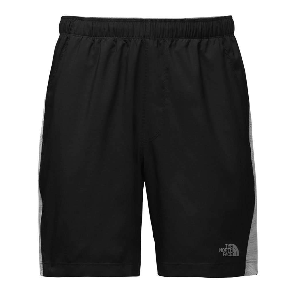 "The North Face Men's 7"" Reactor Shorts in TNF Black"