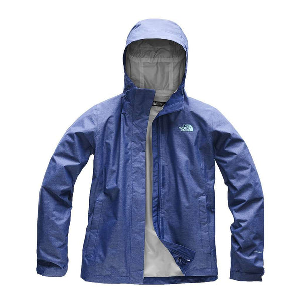 The North Face Women's Venture 2 Jacket in Sodalite Blue Heather