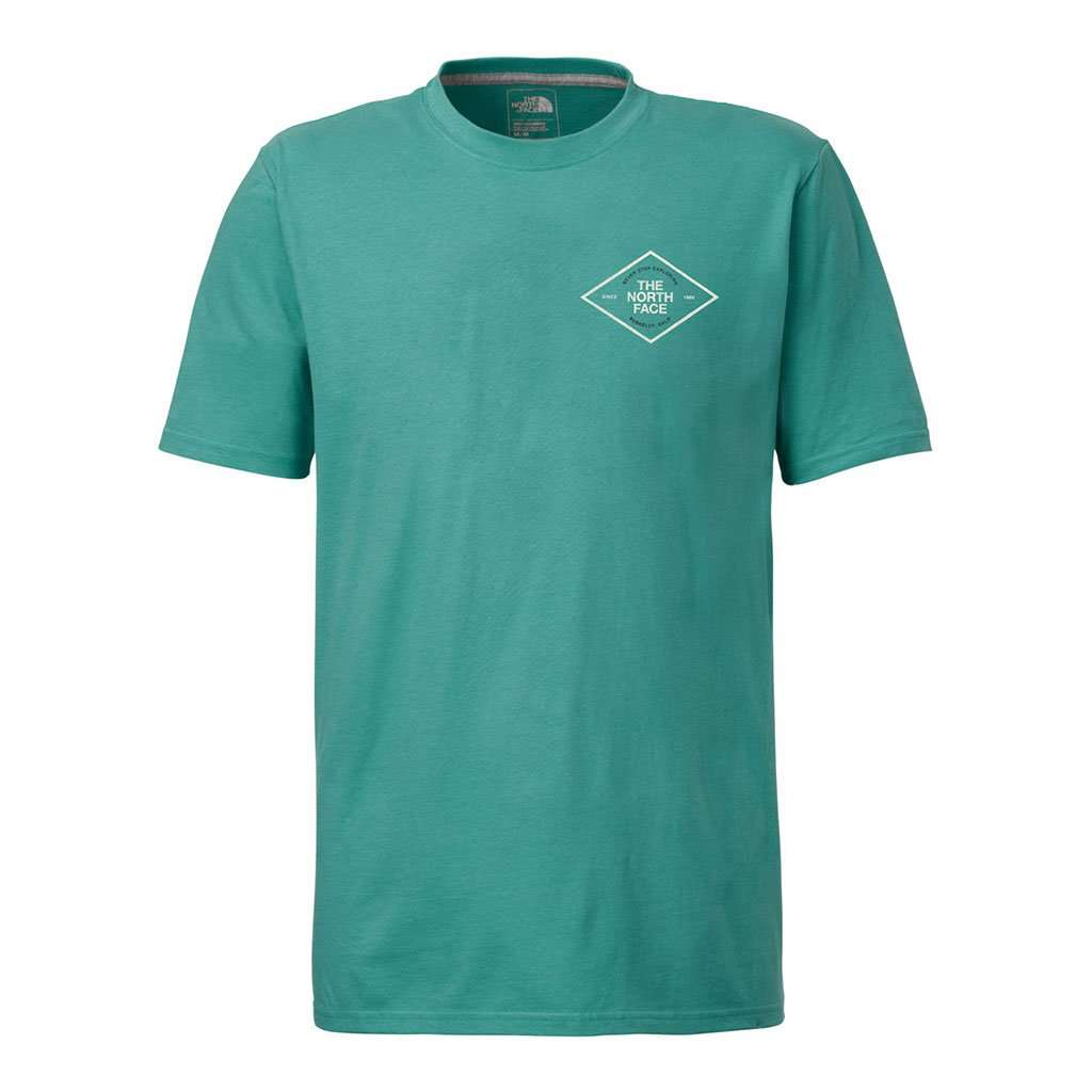 The North Face Men's Short Sleeve Retro Tee in Bristol Blue