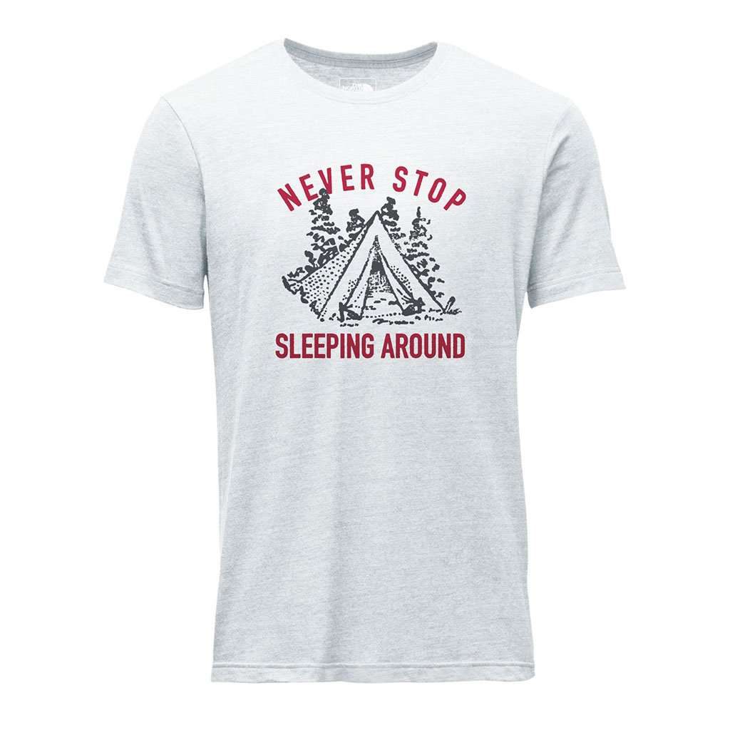 The North Face Men's Campin Tri-Blend Tee in TNF Light Grey Heather