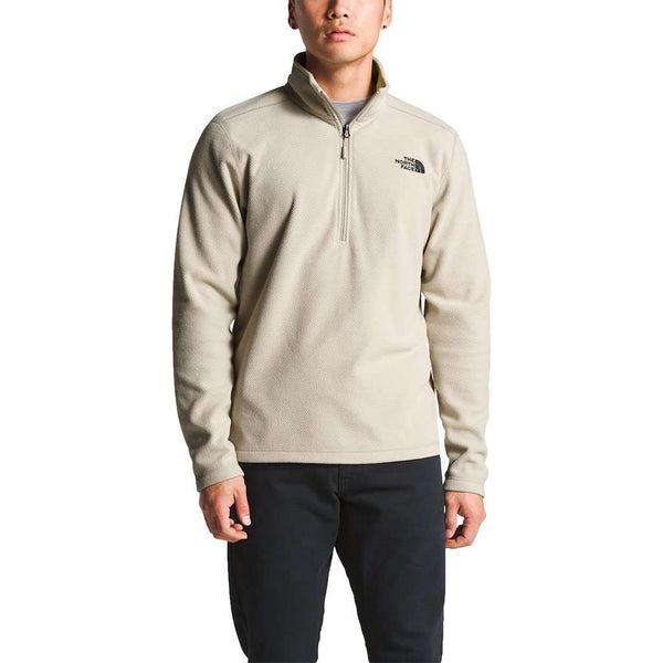 Men's Texture Cap Rock Pullover in Granite Bluff Tan by The North Face - FINAL SALE