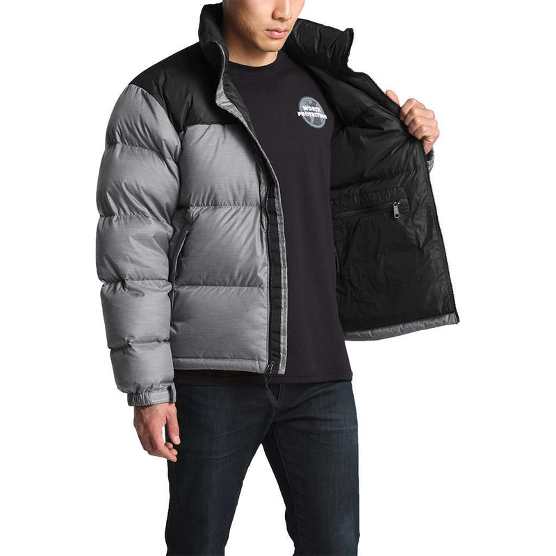 ... clearance the north face mens 1996 retro nuptse jacket in tnf medium  grey heather b867a 9caf1 df1787429