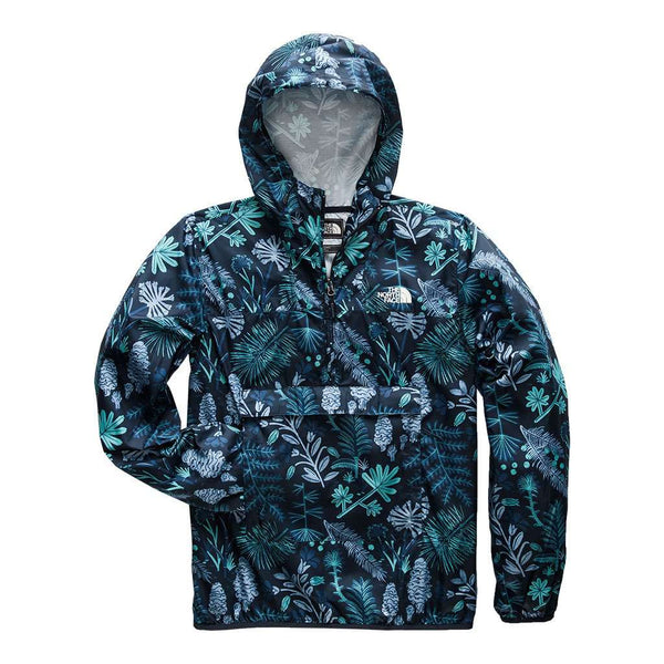 The North Face Men's Fanorak in Urban Navy Woodland Floral Print