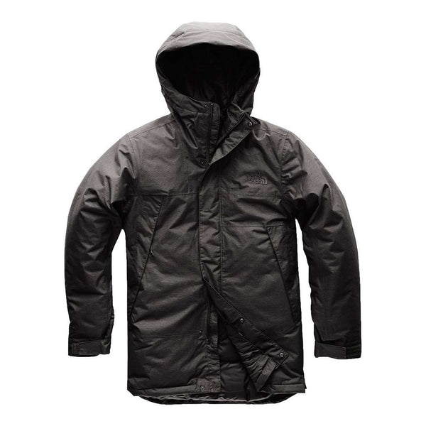 The North Face Men's Shielder Parka in TNF Dark Grey Heather