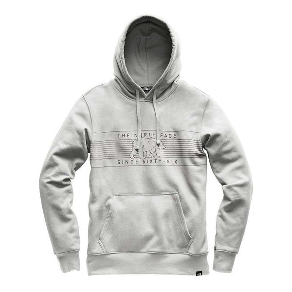 Men's Pullover Big Bear Hoodie in Light Heather Grey by The North Face
