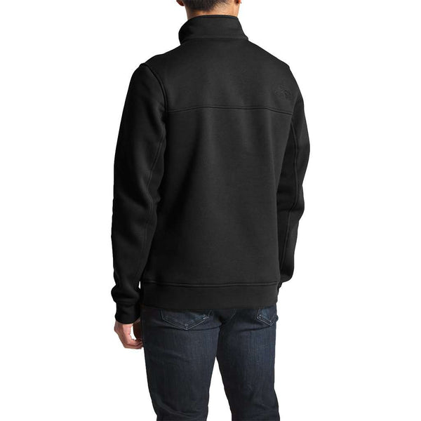 The North Face Men's Alphabet City Fleece Pullover in TNF Black by The North Face